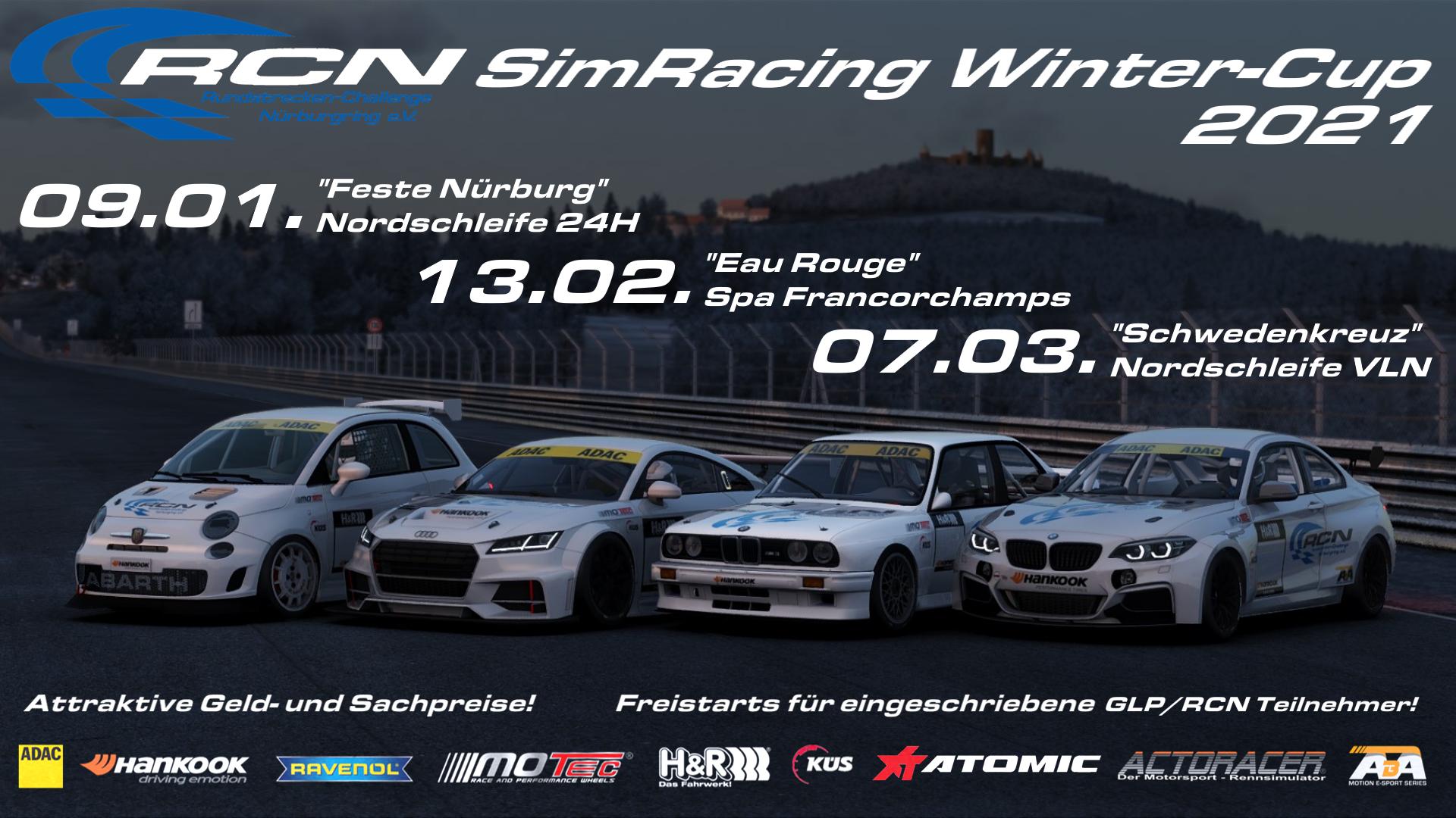 RCN SimRacing Winter-Cup 2021